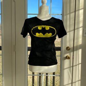 Batman women's tshirt; 50% Cotton 50% Polyester